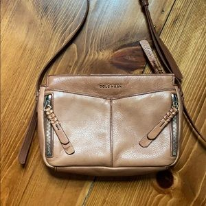 Cole Haan brown crossbody